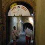 Entrance to Lecorno party