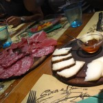 """antipasti molti at """"Sira e Remino"""" restaurant, in Chianti Tuscany"""