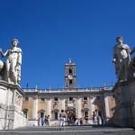 Piazza del Campidoglio, designed by Michelangelo