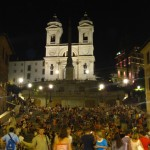 Spanish Steps - close up of the crowd