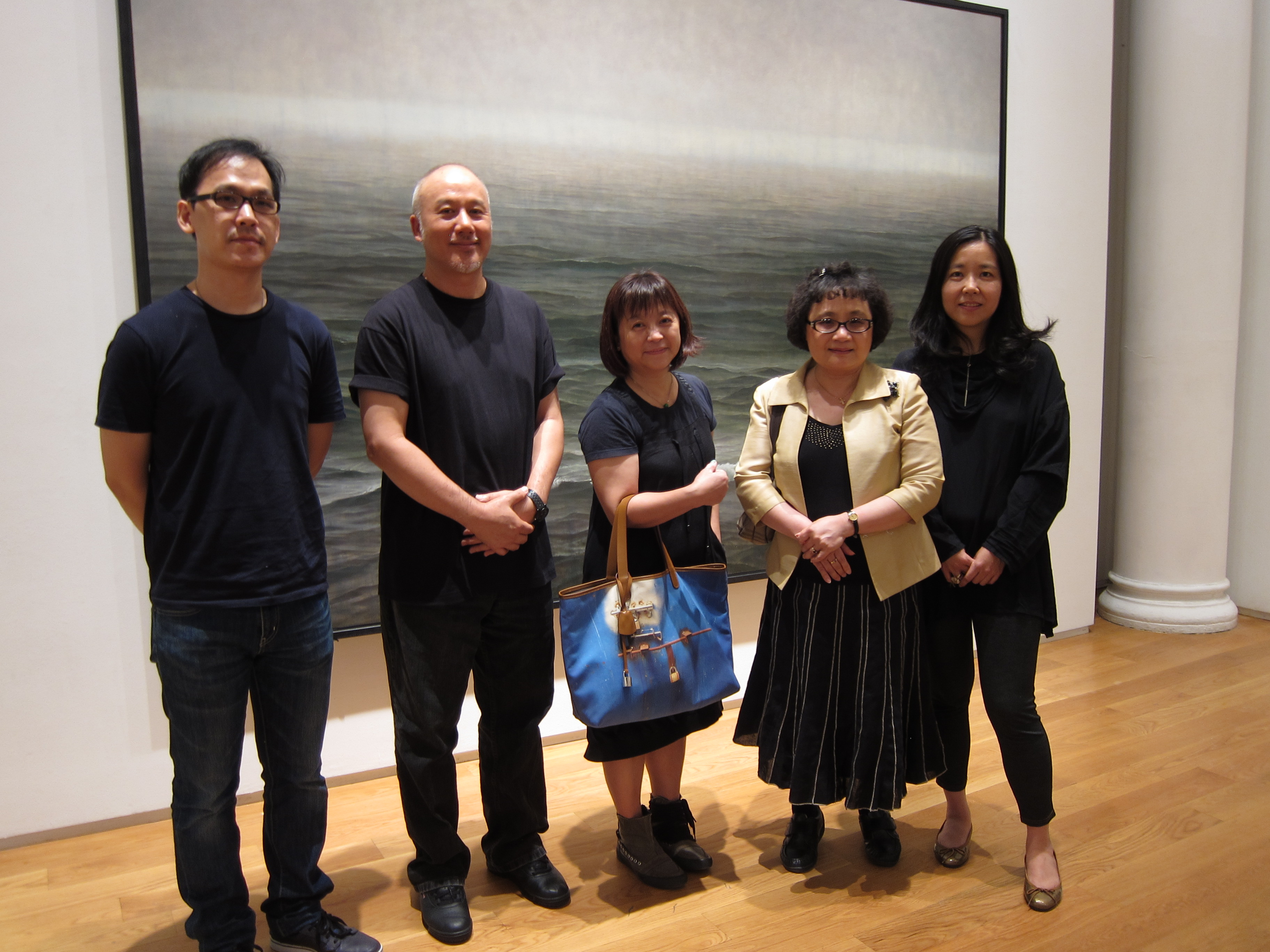 TAIPEI CULTURAL CENTER in New York invited AsianInNY to attend press viewing of the exhibition...