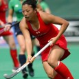 By Keen Hung Lee Kayla Bashore-Smedley is an Asian American field hockey player who competed...
