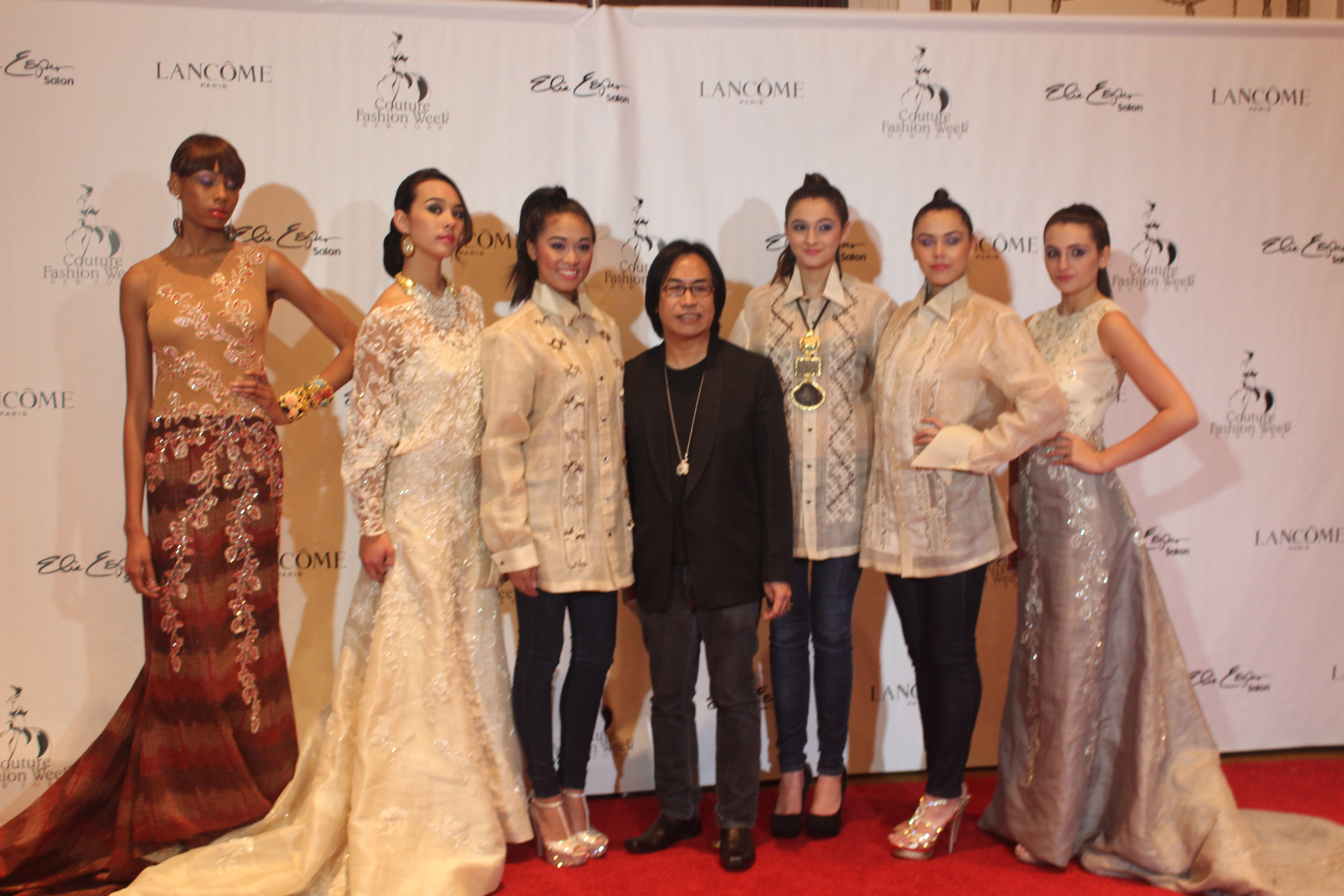 By Merry Wu Filipino designer Barge Ramos was at Couture Fashion Week this past weekend...