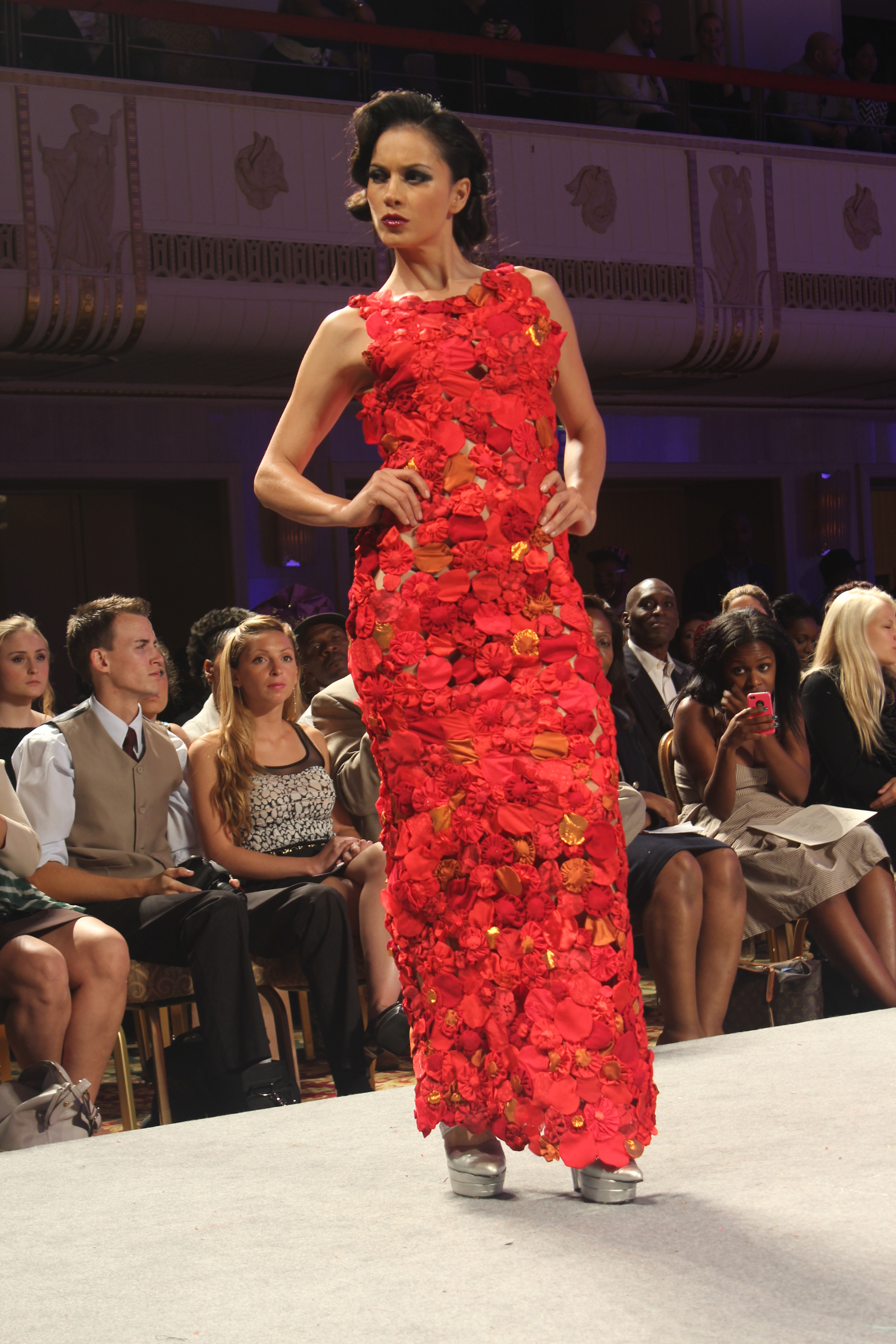 Tiffany Mccall Couture Laureluxe Metal Coutur Jorge Afanador Ss13 Collections