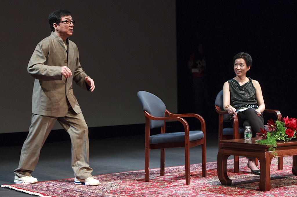 Jackie Chan in Asia Society New York | Blog AsianInNY com