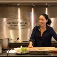 By Joy Chiang Ling and Kevin Young Korean-American television chef, Judy Joo, held a cooking...