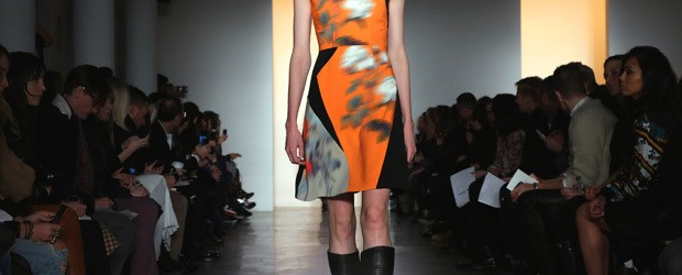 Article by Yinsana Mok Designer Peter Som presented his Fall 2014 collection at Milk Studios...