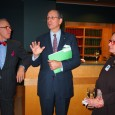 Asia Week New York held their kick-off reception at the  J.J. Lally & Co. with attendees...