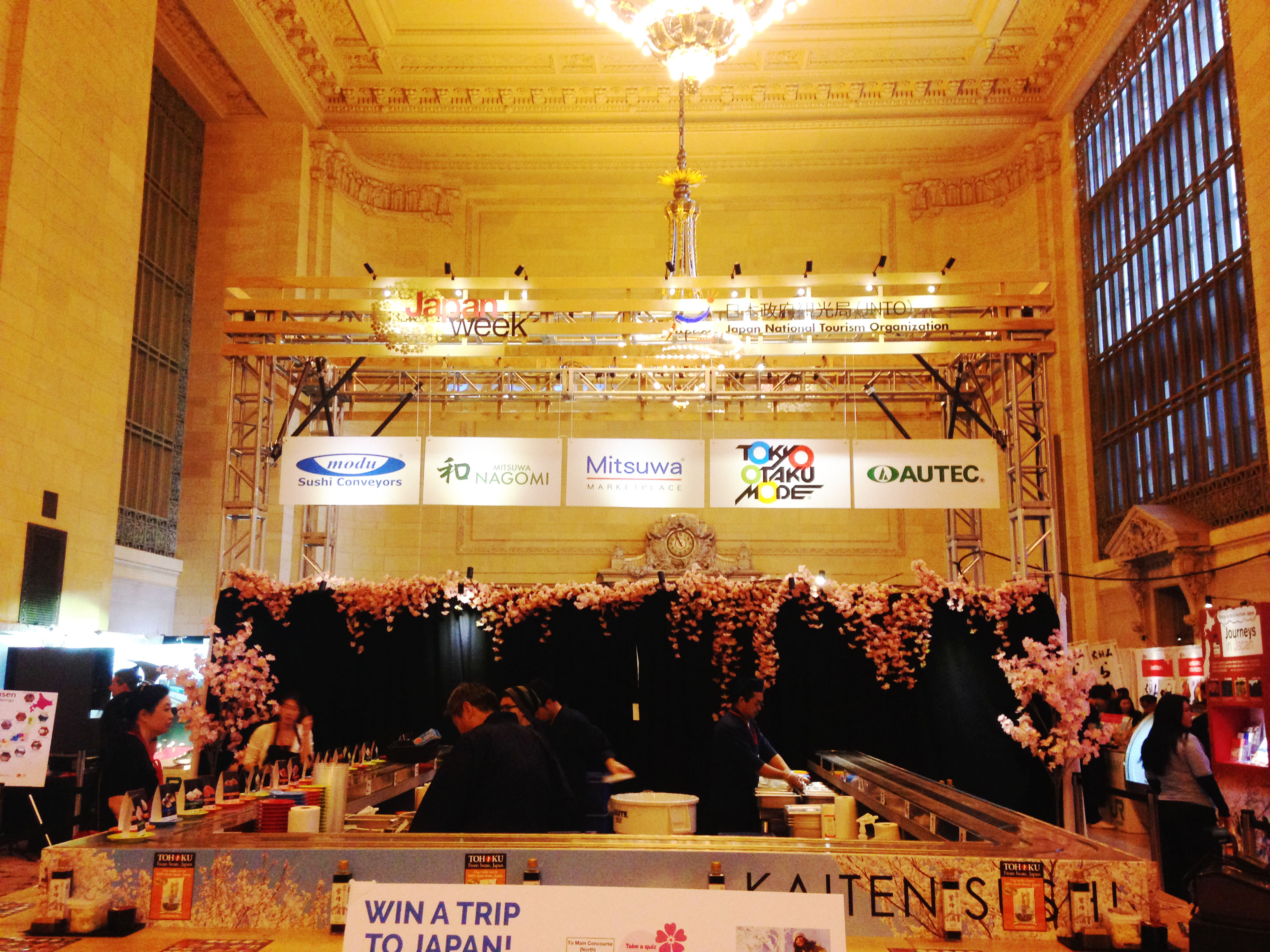 By Luis Vazquez It was three days of cultural education at Grand Central Terminal. What...