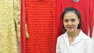 By Kevin Young Women's fashion designer Way Zen, celebrates Earth Day with her closet industry...