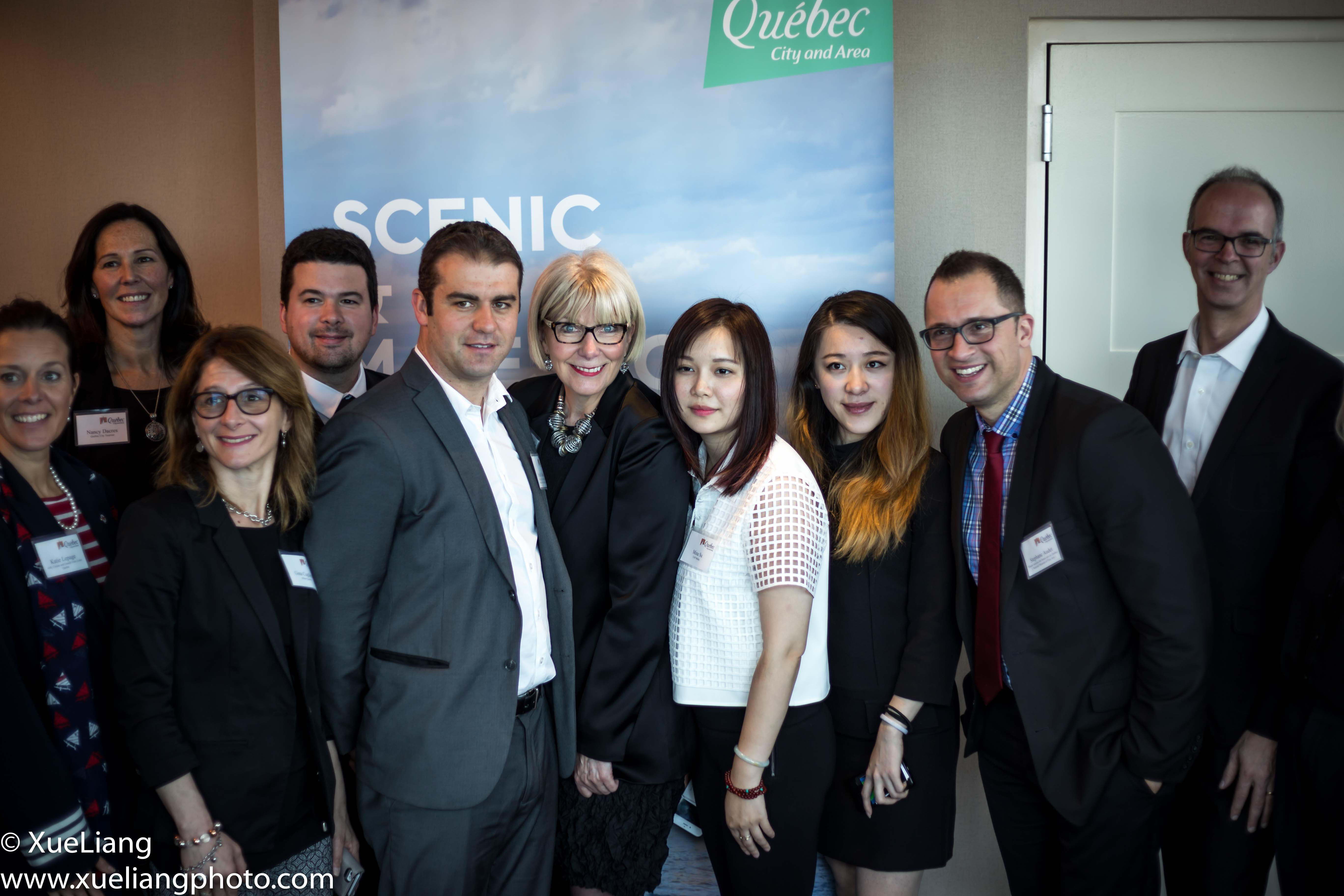 Photo by Xue Liang On May 11th, we were invited to attend a private luncheon...