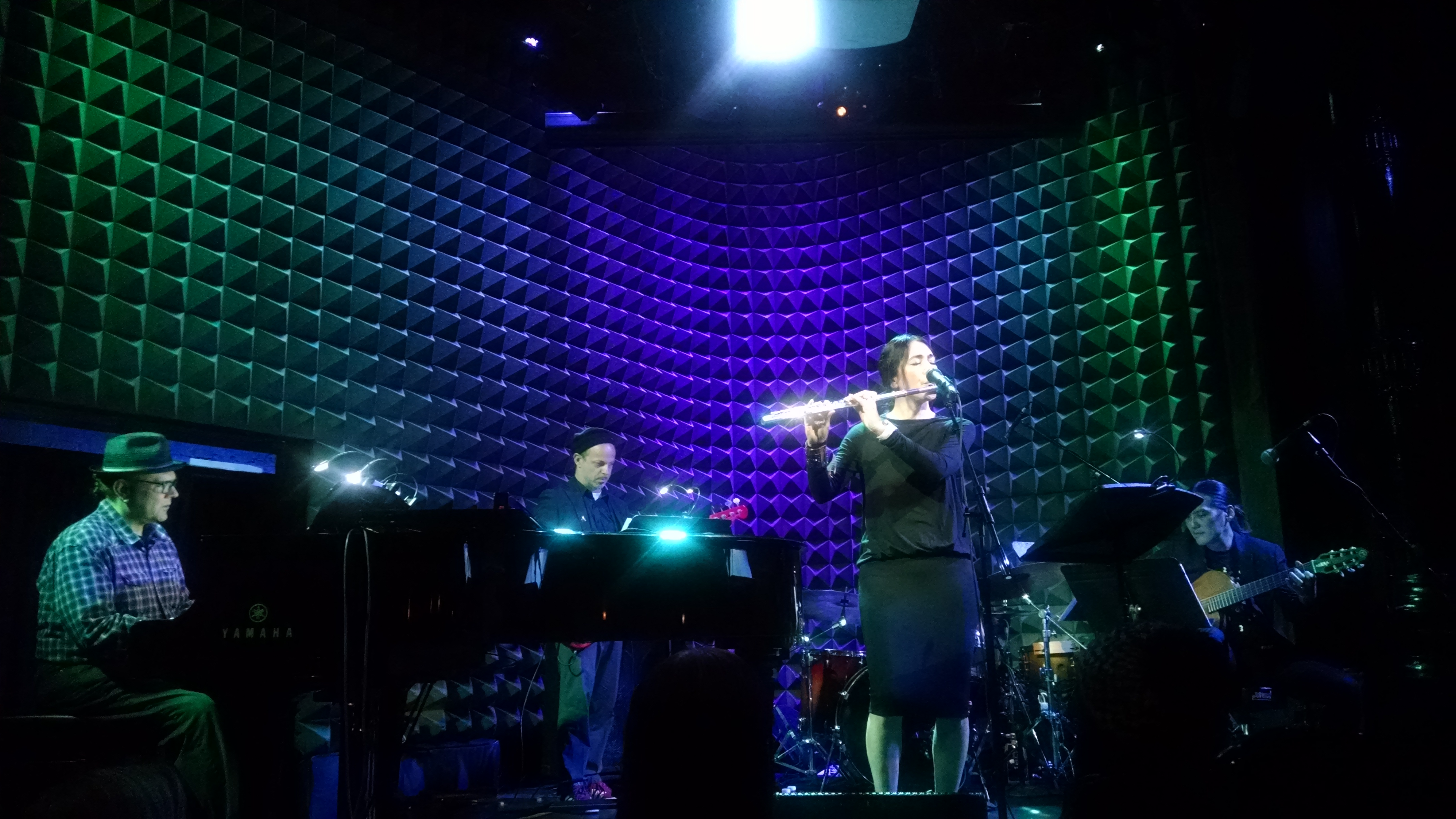 On April 9th, Monday Michiru had a sold out show at Joe's Pub and it...